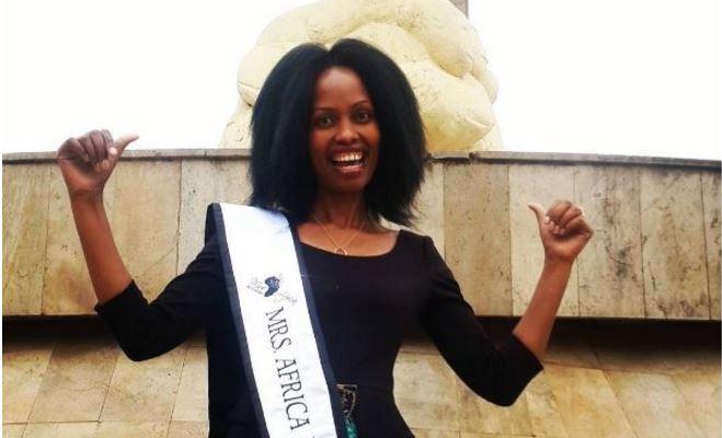 Lucy Kamiti was crowned Mrs. Africa Kenya 2017 as well as Mrs. Africa International